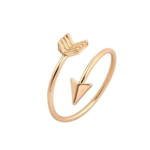 Arrow Gold Plated Ring